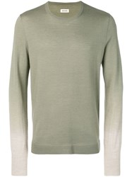 Zadig And Voltaire Jeremy Merino Sweater Green