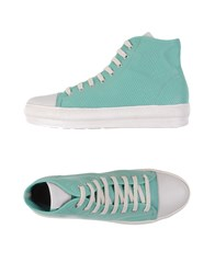 Voile Blanche Sneakers Turquoise