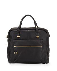 Halston Heritage North South Downtown Tote Bag Black