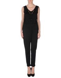 Silvian Heach Pant Overalls Black