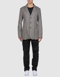 Adidas Slvr Suits And Jackets Blazers Men Grey