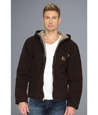 Carhartt Sierra Jacket Tall Dark Brown Men's Jacket