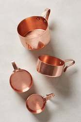 Anthropologie Russet Measuring Cups Copper