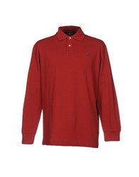 Henry Cotton's Polo Shirts Brick Red