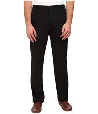 Dockers Premium Big Tall Signature Stretch Flat Front Black X Men's Casual Pants