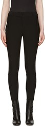 Burberry Black Hasland Riding Trousers