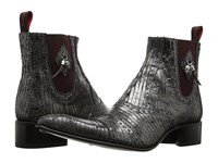Jeffery West Keef Metal Chelsea Black Grey Men's Shoes