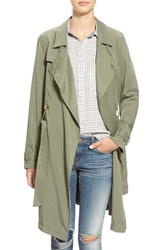 The Hanger Trench Coat Olive