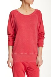 Central Park West The Vinci Pullover Red