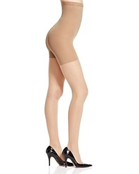 Spanx Luxe Leg High Waisted Sheer Tights 20024R Nude 4