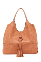 Big Buddha Sportto Tassel Trim Hobo Red