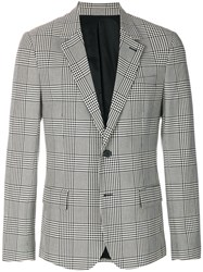 Ami Alexandre Mattiussi Two Buttons Lined Jacket White