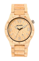 Wewood 'Alpha' Wood Bracelet Watch 46Mm