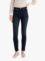 J.Crew 9 High Rise Toothpick Jeans Grey Lake