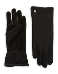 Ur Connected Fleece Lined Tech Gloves Black