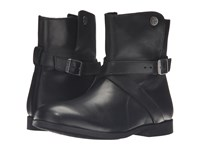 Birkenstock Collins Black Waxed Leather Women's Boots