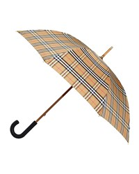 Burberry Richmond Vintage Check Walking Umbrella Multi Pattern