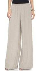 Ramy Brook Tech Palazzo Pants Mineral Gray
