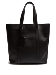Lanvin Leather Tote Black