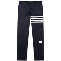 Thom Browne Unconstructed Twill 4 Bar Chino Blue