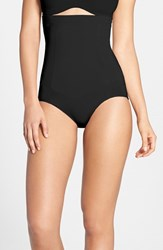 Women's Spanx 'Oncore' High Waist Shaping Briefs Black
