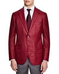 Jack Victor Loro Piana Classic Fit Sport Coat 100 Bloomingdale's Exclusive Red