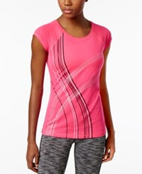 Ideology Graphic T Shirt Only At Macy's Molten Pink