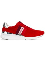 Kennel Schmenger And Side Stripe Sneakers Red