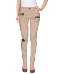 Franklin And Marshall Trousers Casual Trousers Women Beige