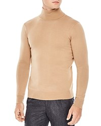 Sandro Turtleneck Sweater Camel