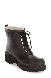 Women's Ilse Jacobsen Waterproof Lace Up Short Snow Rain Boot 2 1 2' Heel