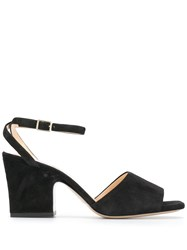 Fabio Rusconi Heeled Burro Sandals Black