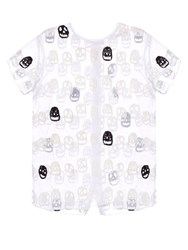 Jupe By Jackie Skulley Embroidered Cotton Top White Black
