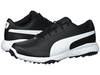 Puma Golf Grip Fusion Classic Black White Golf Shoes