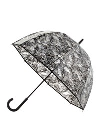 Hunter Original Wave Print Bubble Umbrella Clear