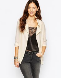 Goldie Jalouse Chiffon Blouse With Front Zip Pink