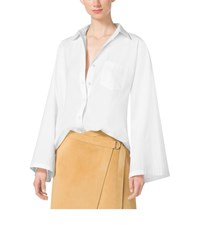 Michael Kors Cotton Poplin Shirt