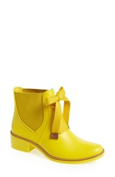 Women's Bernardo Footwear 'Lacey' Short Waterproof Rain Boot Yellow