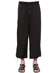 Damir Doma Crepe Viscose Satin Trousers