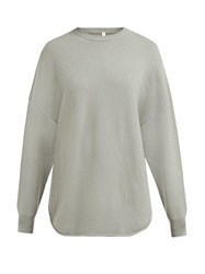 Extreme Cashmere No. 53 Crew Hop Cashmere Blend Sweater Light Green