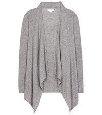 Velvet Rocelyn Wool And Cashmere Cardigan Grey