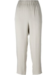 Dusan Cropped Trousers Nude And Neutrals