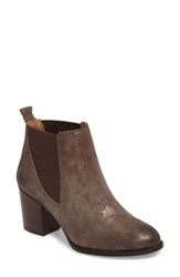 Sofft Women's Welling Bootie Smoke Foil Suede