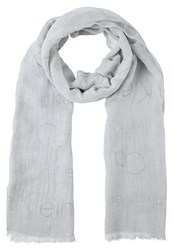Calvin Klein Jeans Scarf Grey Light Grey