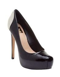 Dolce Vita Bianka Patent Leather Pumps Black Patent