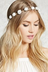 Forever 21 Floral Rope Headwrap