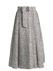 Max Mara Eiffel Skirt White Black