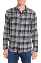 Grayers Men's Langston Regular Fit Plaid Flannel Sport Shirt