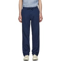 Onia Blue Linen Collin Trousers