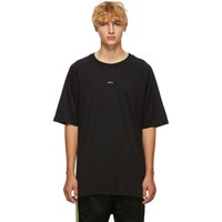Song For The Mute Black 'Plant' Raglan Oversized T Shirt